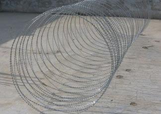 Galvanized Concertina Wire And Razor Barbed Wire